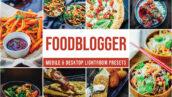 30 پریست لایت روم حرفه ای عکس غذا Foodblogger Lightroom Presets