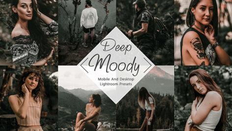 30 پریست لایت روم حرفه ای و پریست کمراراو Neo Deep Moody Lightroom Presets