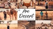 30 پریست لایت روم رنگی حرفه ای تم صحرا Pro Desert Mobile And Lightroom
