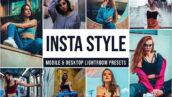 30 پریست لایت روم عکس اینستاگرام دسکتاپ و موبایل Insta Style Lightroom Presets