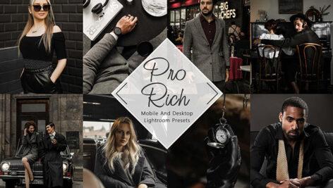 30 پریست لایت روم فشن حرفه ای و پریست کمراراو Neo Rich Lightroom Presets