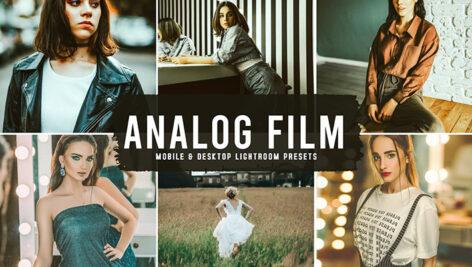 40 پریست لایت روم و پریست کمرا راو و اکشن فتوشاپ تم فیلم آنالوگ Analog Film Lightroom Presets