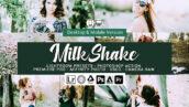 61 پریست لایت روم و کمرا راو و اکشن فتوشاپ و لات رنگی Milk Shake Lightroom Presets