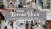 73 پریست لایت روم و کمرا راو و اکشن فتوشاپ و لات رنگی Korean Movie Lightroom Presets
