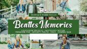 80 پریست لایت روم و کمرا راو و اکشن فتوشاپ و لات رنگی Beatles Memories Lightroom Presets
