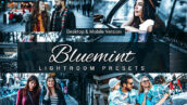 80 پریست لایت روم و کمرا راو و اکشن فتوشاپ و لات رنگی Bluemint Lightroom Presets