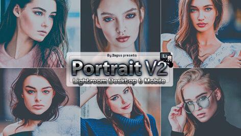 9 پریست لایت روم پرتره و پریست کمرا راو فتوشاپ Dark Mood Portrait Lightroom Presets