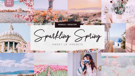 دانلود 30 پریست لایت روم فصل بهار حرفه ای Sparkling Spring Lightroom Presets
