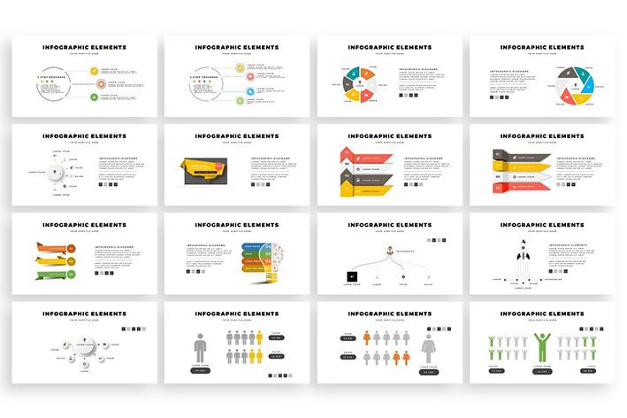قالب پاورپوینت حرفه ای 2021 تم پاشش رنگ SPLASH PowerPoint Template Bundle
