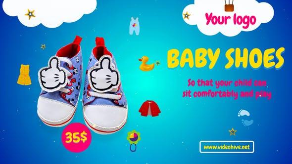 پروژه پریمیر با موزیک تبلیغات لوازم کودک Baby Planet Sale Promo