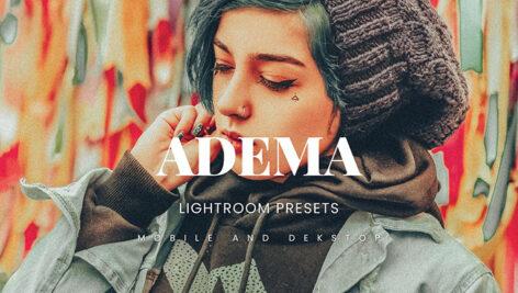 20 پریست پرتره جدید لایت روم حرفه ای Adema Lightroom Presets