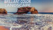 10 پریست لایت روم طبیعت تم درخشان Brilliant Color Landscape Presets