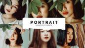 10 پریست لایت روم پرتره جدید Portrait Lightroom Presets