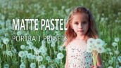 10 پریست لایت روم پرتره رویایی Matte Pastel Portrait Lightroom Presets