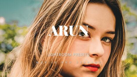 20 پریست لایت روم حرفه ای عکس پرتره Arun Lightroom Presets