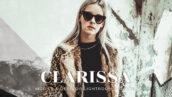 20 پریست لایت روم رنگی تناژ قهوه ای Clarissa Lightroom Presets
