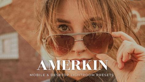 20 پریست لایت روم رنگی 2021 دسکتاپ و موبایل Amerkin Lightroom Presets
