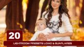 20 پریست لایت روم روز آفتابی LightRoom presets Lomo Sunflares