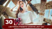 20 پریست لایت روم عکس عروسی Lightroom Presets Wedding Light Day