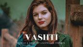 20 پریست لایت روم پرتره فوق حرفه ای زیبا Vashti Lightroom Presets