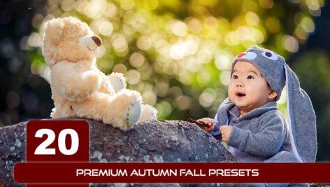 20 پریست لایت روم 2021 فصل پاییز Premium Autumn Fall Presets