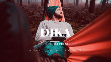 20 پریست لایت روم 2021 مات سینماتیک Dika Lightroom Presets