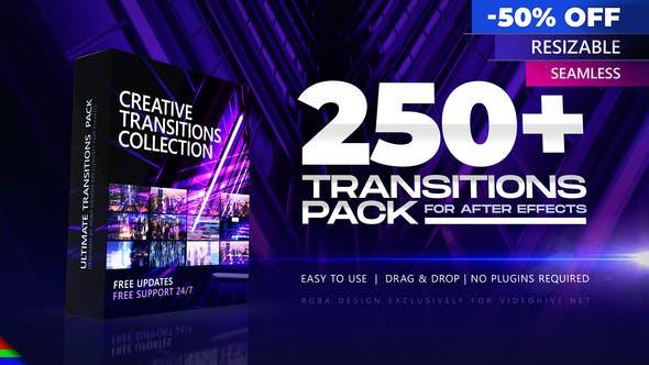 250 ترانزیشن افتر افکت هندی سیملس 2021 جدید After Effects Transitions