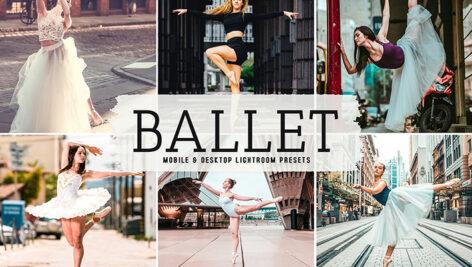 40 پریست لایت روم و پریست کمرا راو و اکشن فتوشاپ رقص بالت Ballet Lightroom Presets
