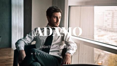 خرید 20 پریست لایت روم سینمایی حرفه ای Adamo Lightroom Presets