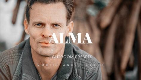 خرید 20 پریست لایت روم پرتره فشن مردانه Alma Lightroom Presets