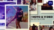 پروژه آماده پریمیر اسلاید شو حرفه ای با موزیک Quick Photo Slideshow