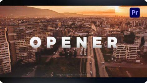 پروژه آماده پریمیر با موزیک تیتراژ و وله حرفه ای Opener for Premiere Pro