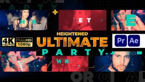 پروژه آماده پریمیر سینک رقص رزولوشن 4K با موزیک Music Party Night Event