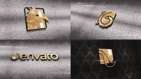 پروژه افتر افکت لوگو با موزیک 2021 افکت طلایی Carving Gold Logo