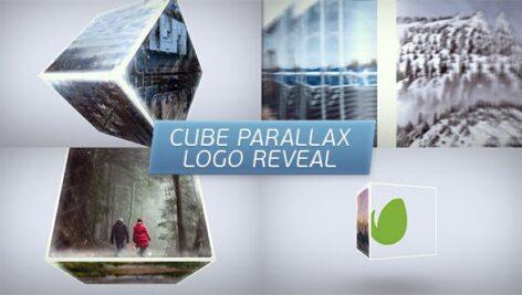 پروژه افتر افکت لوگو با موزیک 2021 افکت مکعب Cube Parallax Logo Reveal