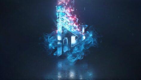 پروژه افتر افکت لوگو با موزیک 2021 جدید Logo Reveal