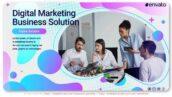 پروژه افتر افکت معرفی شرکت دیجیتال مارکتینگ Digital Marketing Business Solution