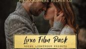 10 پریست لایت روم سینمایی زیبا Luxe Film LR Preset Pack