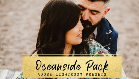 10 پریست لایت روم عکس فضای باز Oceanside LR Preset Pack