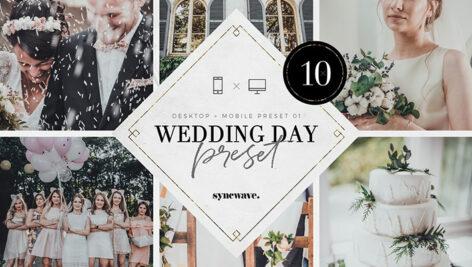 10 پریست لایت روم 2021 عروسی Wedding Day Lightroom Presets Bundle