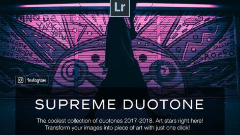 100 پریست لایت روم حرفه ای تک رنگ Duotone Lightroom Presets