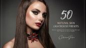 100 پریست لایت روم رتوش عکس پرتره Natural Skin Lightroom Presets