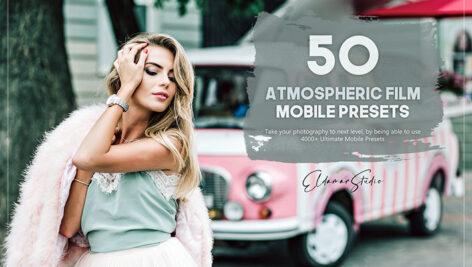 100 پریست لایت روم سینمایی حرفه ای Atmospheric Film Mobile Presets Pack