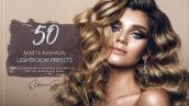 100 پریست لایت روم 2021 حرفه ای فشن Matte Fashion Lightroom Presets