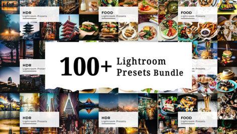 100 پریست لایت روم HDR و مواد غذایی : Lightroom Presets Bundle