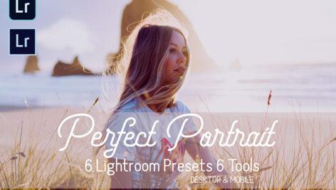12 پریست لایت روم پرتره جدید Perfect Portrait Lightroom Presets