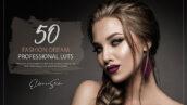 150 پریست لایت روم حرفه ای فشن و LUTs رنگی Fashion Dream LUTs and Presets Pack