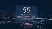 150 پریست لایت روم حرفه ای و LUTs رنگی Night City LUTs and Presets Pack