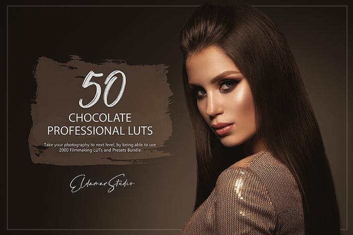 150 پریست لایت روم حرفه ای و LUTs رنگ شکلاتی Chocolate LUTs and Presets Pack