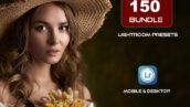 150 پریست لایت روم حرفه ای 2021 برای عکاسان Lightroom Presets Bundle